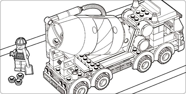 Lego Fire Truck Coloring Pages Lego City Coloring Pages Cooloring