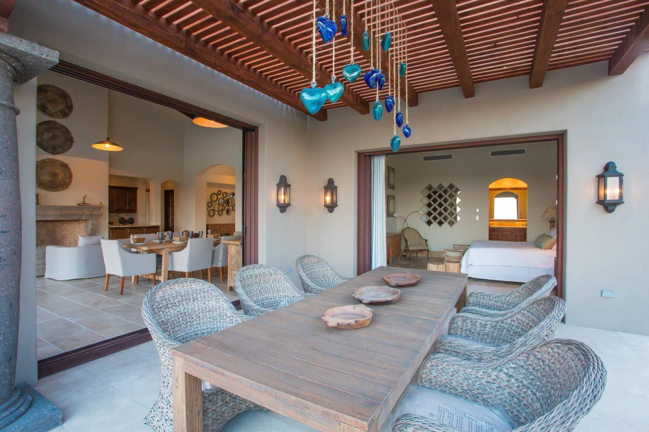 15 terrazas r sticas sensacionales ideas para el hogar for Decoracion de casas de playa modernas