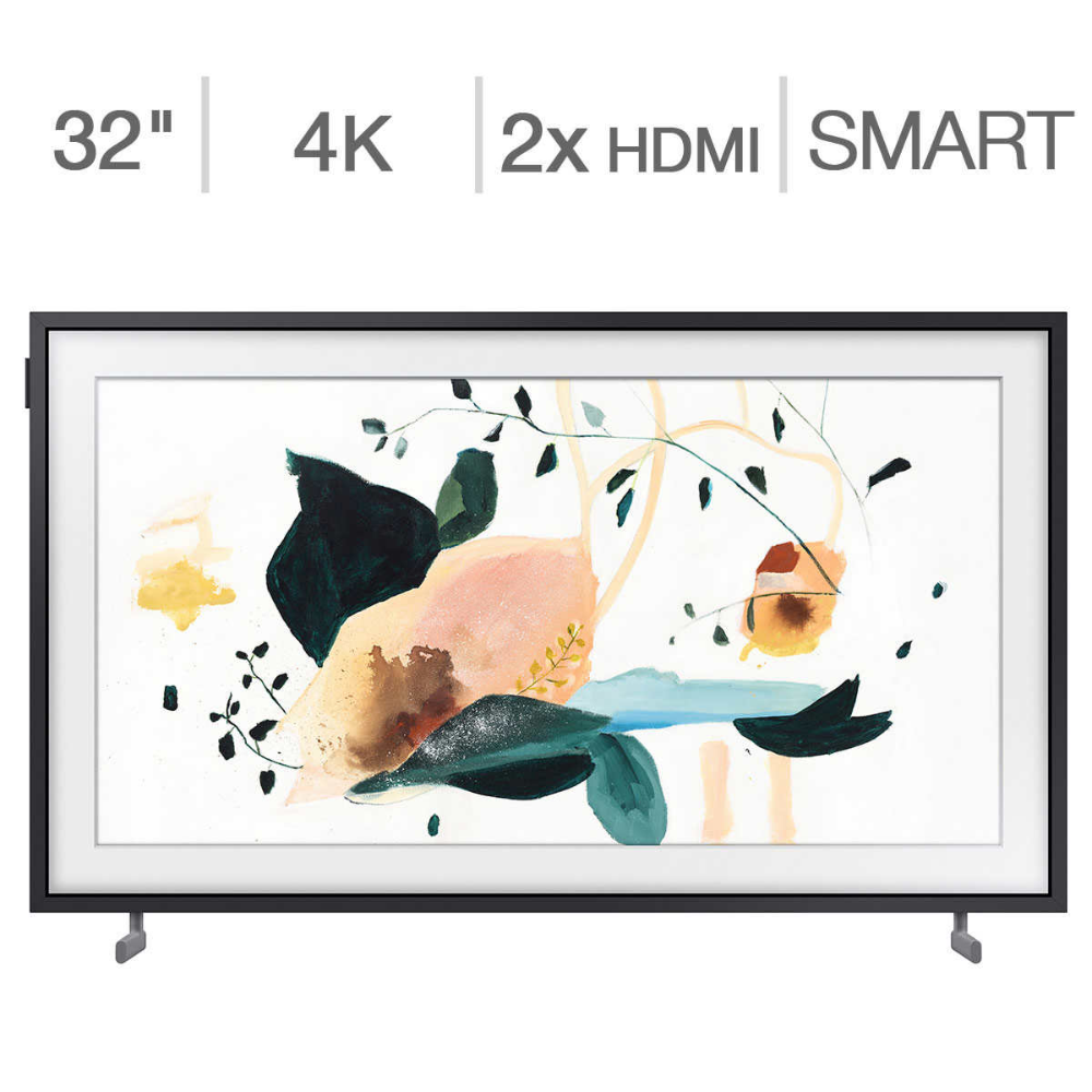 Samsung 32 Class The Frame Series 1080p Qled Lcd Tv 50 Frame Art Store Subscription Credit Included Framed Tv Lcd Tv Art Store