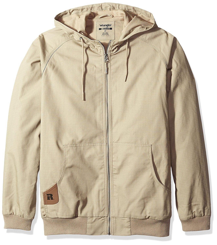 0086fec8 Riggs Workwear Men's Big and Tall Workhorse Hooded Jacket - Dark Khaki -  CY12HT5H88H,Men's Clothing, Jackets & Coats, Work Wear #men #fashion #style  ...