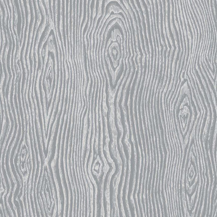 Cypress Wallpaper In Grey And Silver From The Pure Collection By Graham Brown