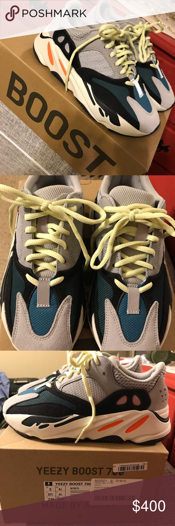 online store bbf82 bf41d Yeezy boost 700 Wave Runner Brand new never worn yeezy Wave ...