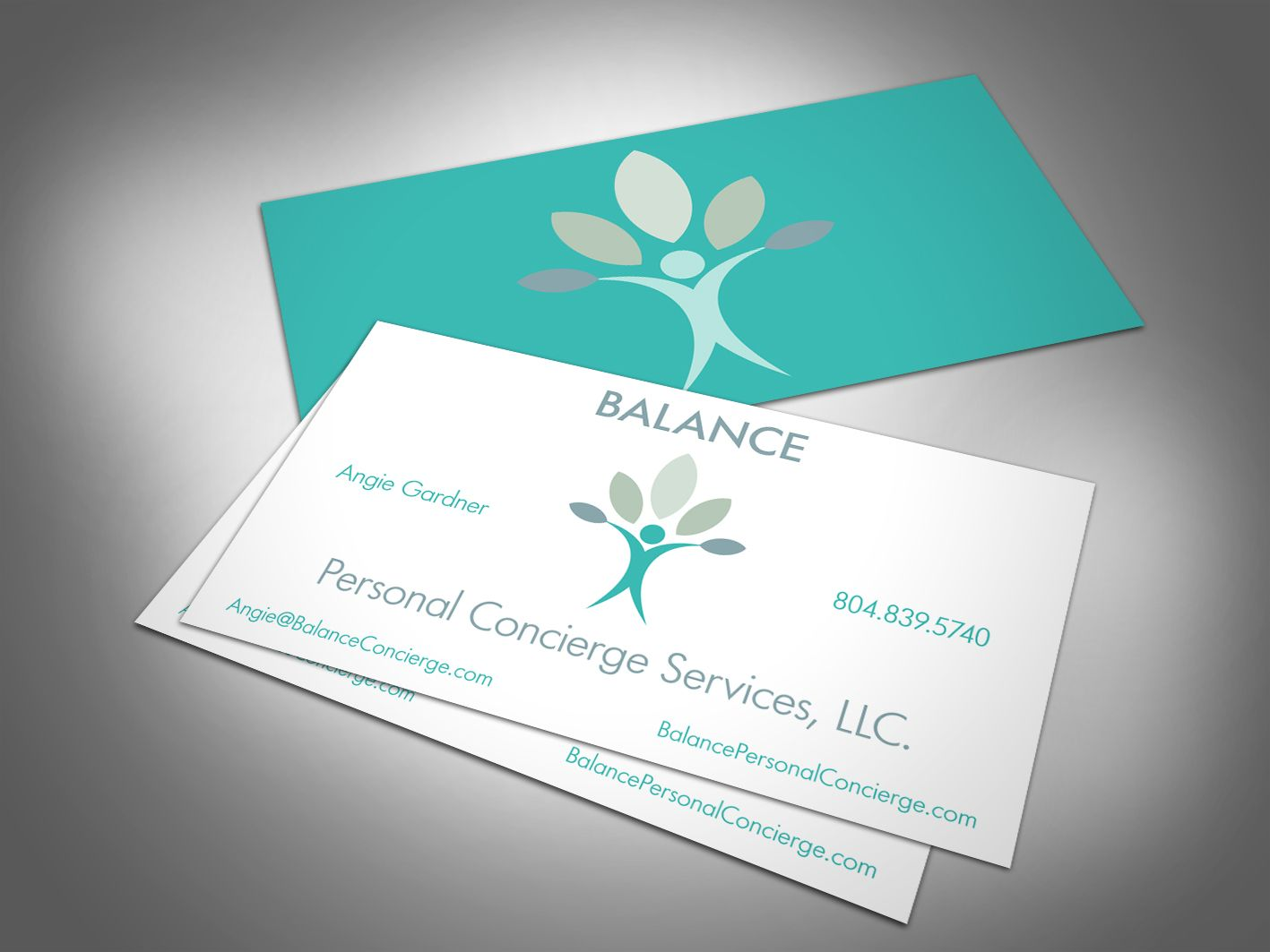 This is a card for a new start up business - a Personal Concierge ...
