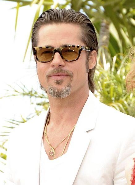 Brad Pitt Slicked Back Hairstyle Hairstyles