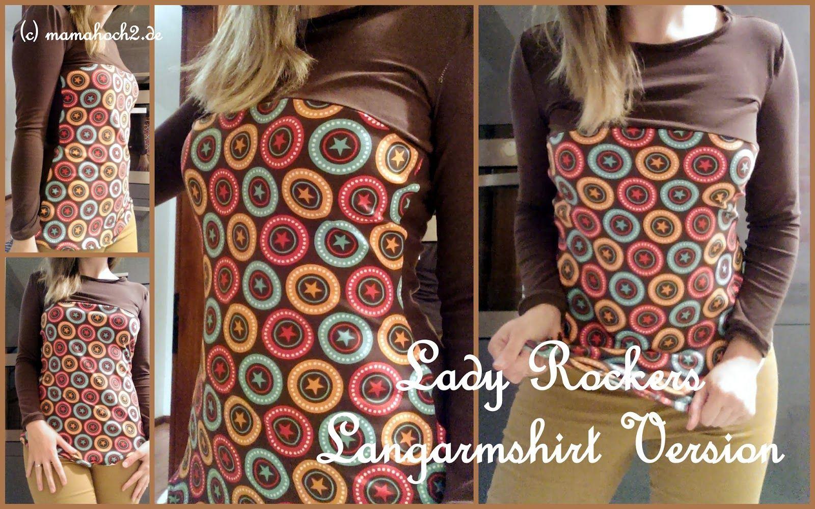 Mamahoch2: Freebook Lady Rockers | Kostenlose Nähanleitungen ...