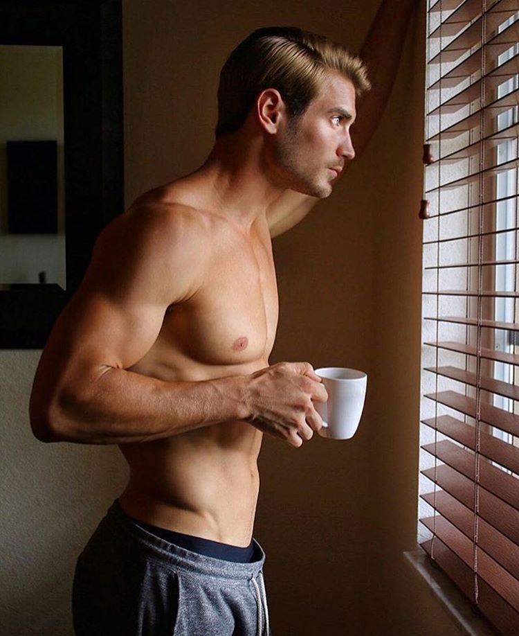 Lucas Fit Hot American Guy Part 2 Saturday Morning Coffee