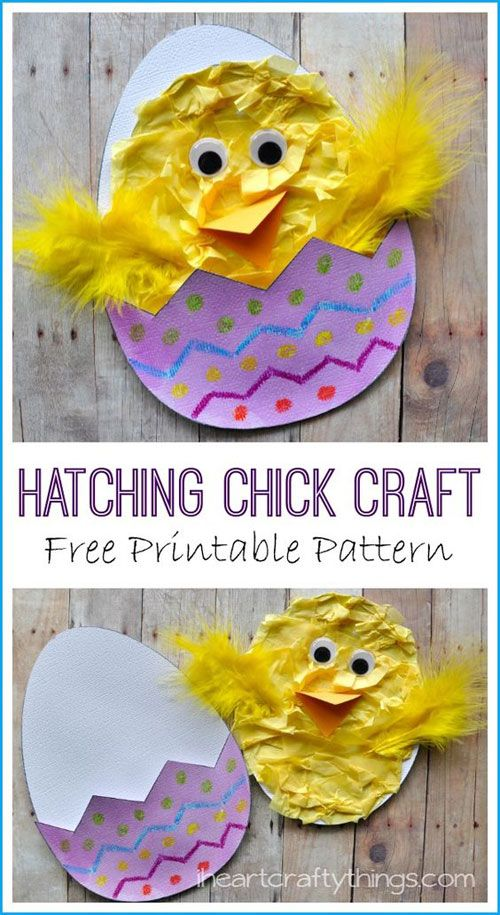 40 Simple Easter Crafts For Kids Craft Pinterest Easter