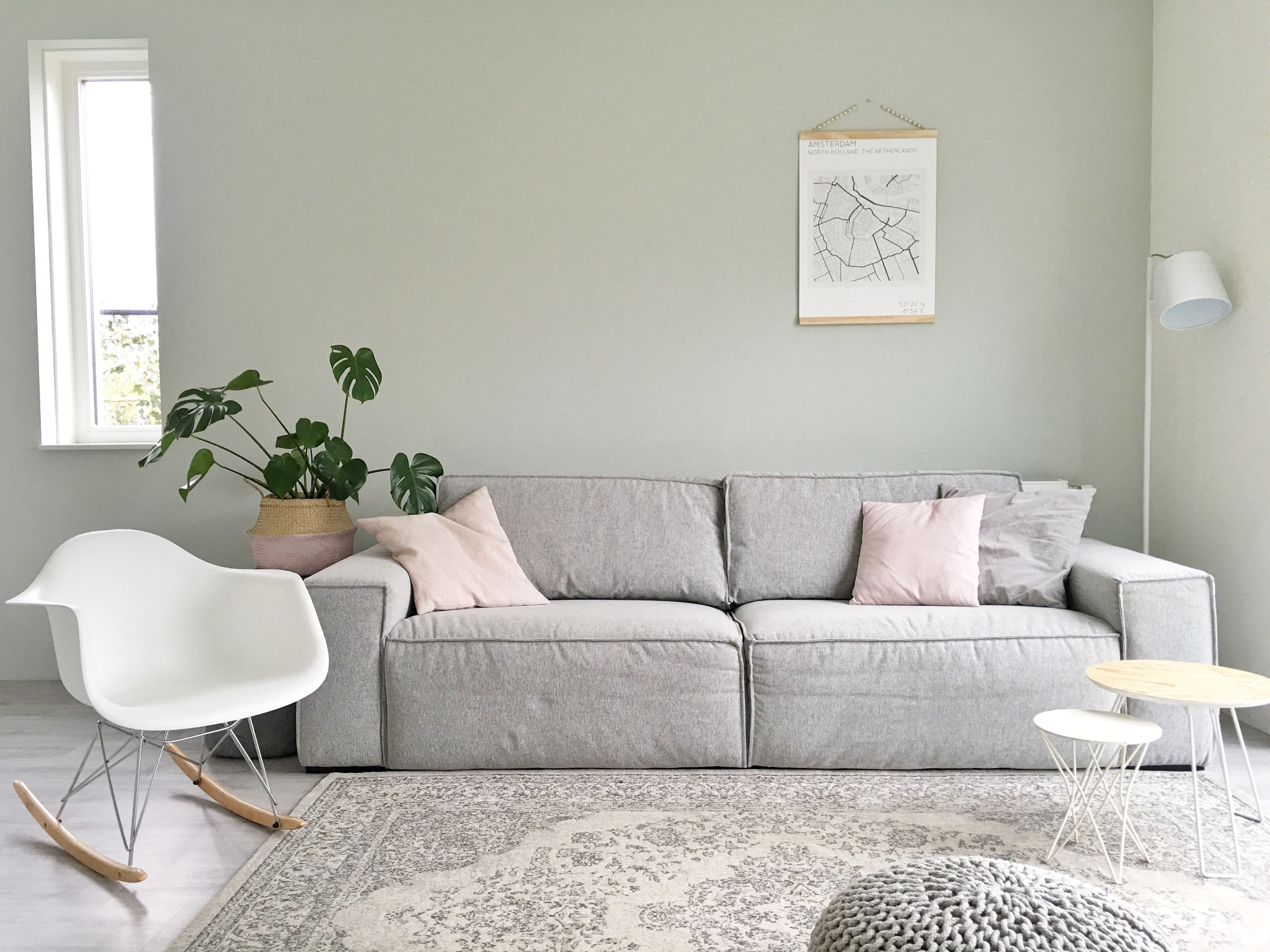 Afbeeldingsresultaat voor muurverf groen | Woonkamer | Pinterest ...