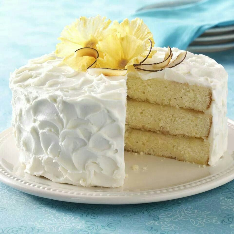 Pina Colada Cake...Deliciousness!!