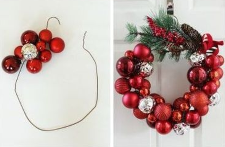 "24 DIY Christmas Wreaths That Scream ""Welcome, Santa!"""