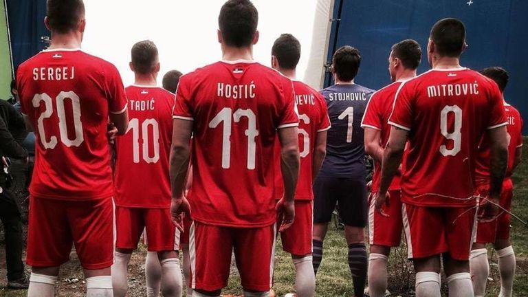 b342a4dbbfe Serbia have teased the new red home shirt