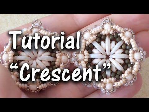 """TUTORIAL Perline Modulo """"Crescent"""", con Crescent Beads - YouTube"""