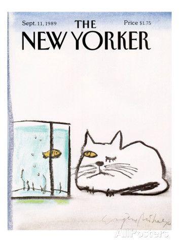 The New Yorker Cover - September 11, 1989 Regular Giclee Print par Eugène Mihaesco sur AllPosters.fr