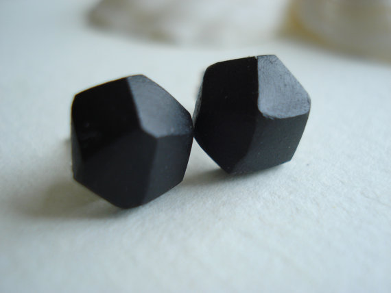 Gem Cut Earrings