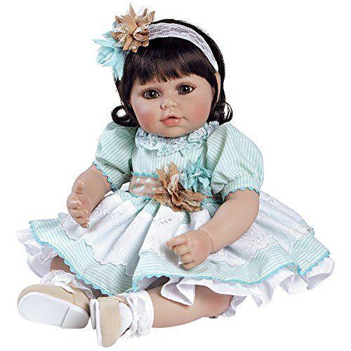 """Adora Toddler Little Dreamer 20/"""" Girl Weighted Doll Gift Set For Children 6+"""