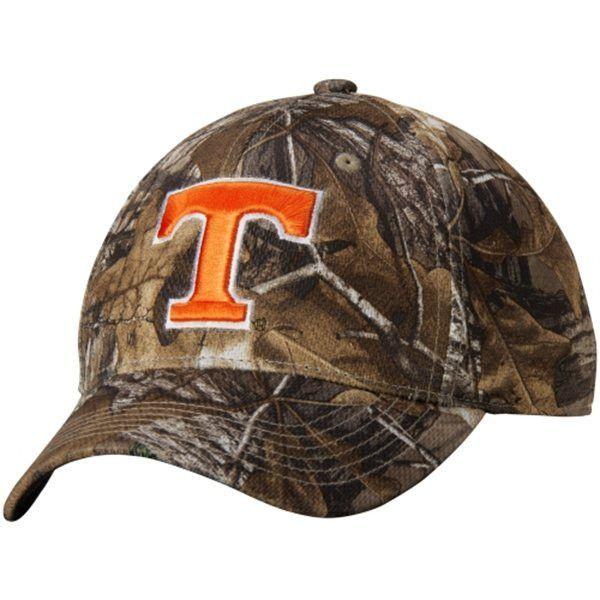 1847e3966f4c7 Tennessee Volunteers TOW Camo Realtree Xtra Memory Foam Flexfit Hat Cap  (M L)