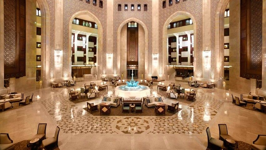 15 amazing luxury hotel lobbies around the world lobbies for Amazing luxury hotels