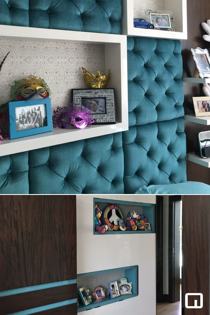 Diseño de cuartos juveniles para mujeres | Proyectos | Diseño de ...