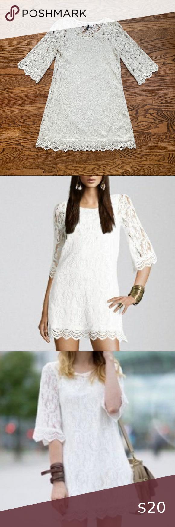Women S White Lace Shift Dress H M White Lace Shift Dress Lace Shift Dress Shift Dress [ 1740 x 580 Pixel ]