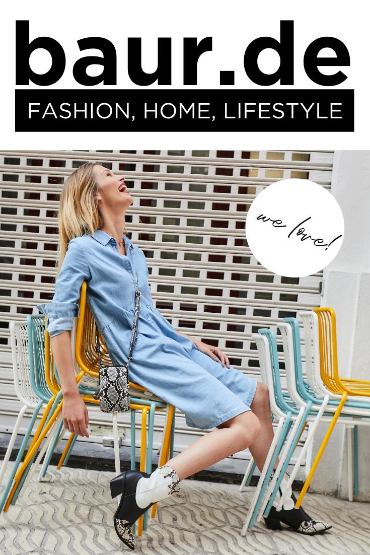 BAUR – dein Onlineshop für Fashion, Möbel und Wohnaccessoires! #baur #fashion #shoppen #einrichten