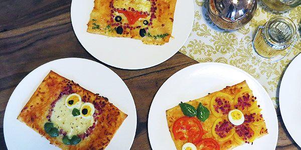 Kochen-nach-Optik »»» Eulen und Autos als Pizza