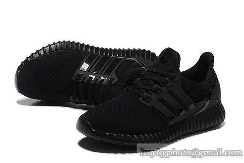 f2ee281ae4b4f Adidas Yeezy Boost Ultra Boost All Black (Men Women)