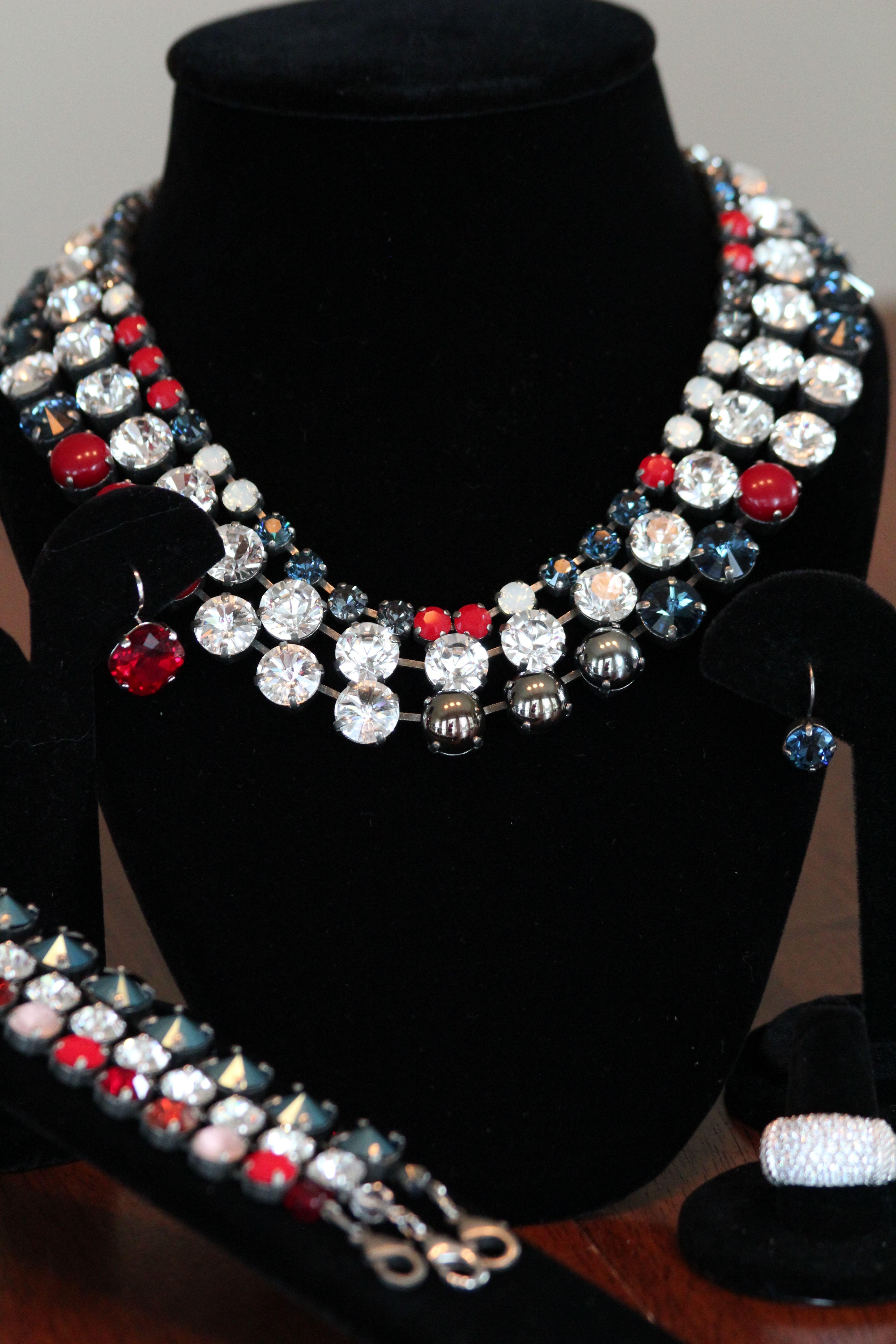 Sabika look necklace - Patriotic sabika look sabikalove sabika