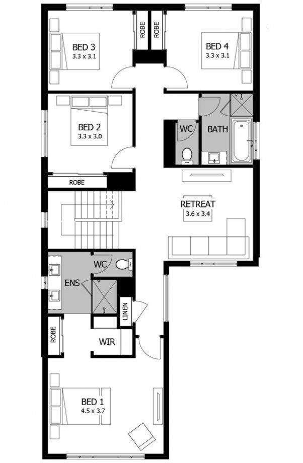 storey house plans nova mojo homes also architecture pinterest rh