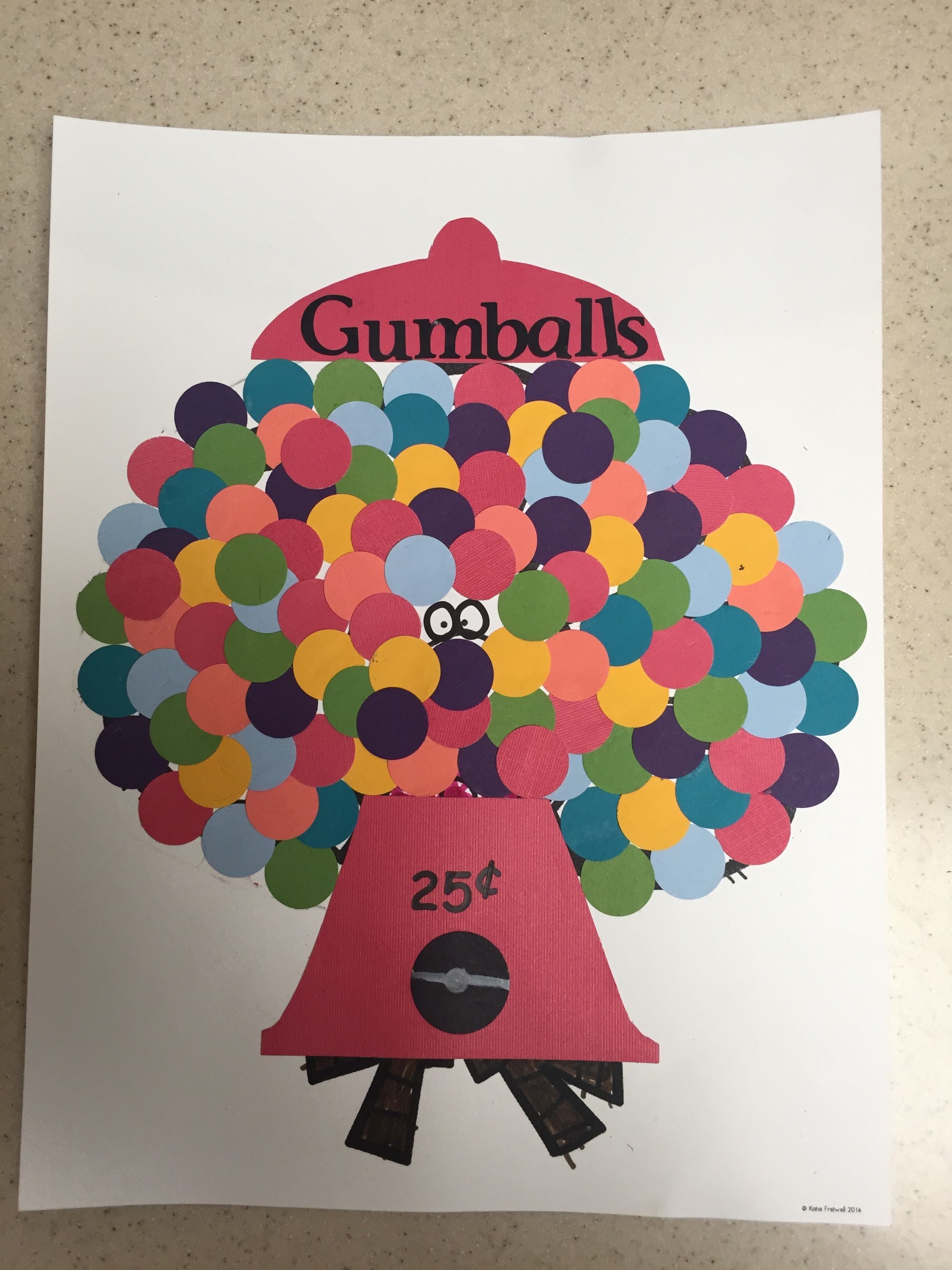 Gumball Fun Worksheet Grade 5