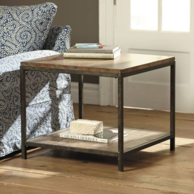 durham square end table- use as coffee table in the middle of