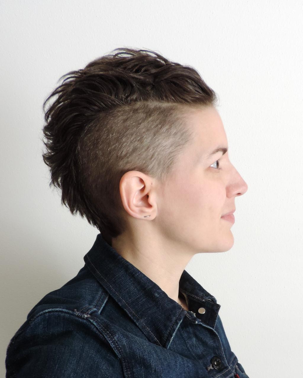 Short punk mohawk pixie hair cut inspiration Hair styles