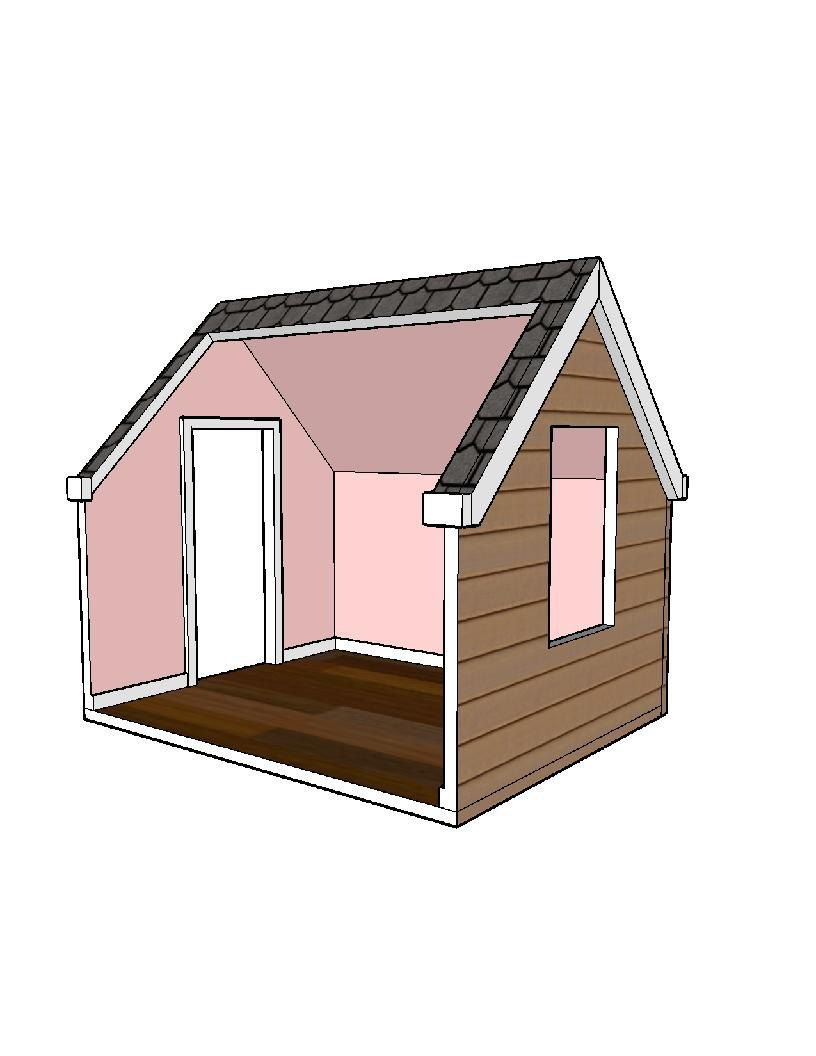 Doll House Plans 1 Room Modules For American Girl Or 18