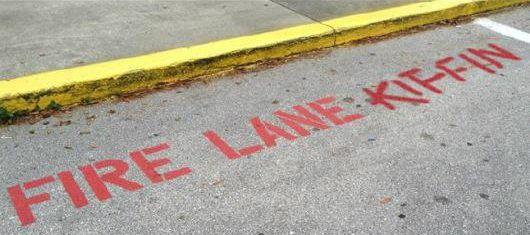 Image result for fire lane kiffin