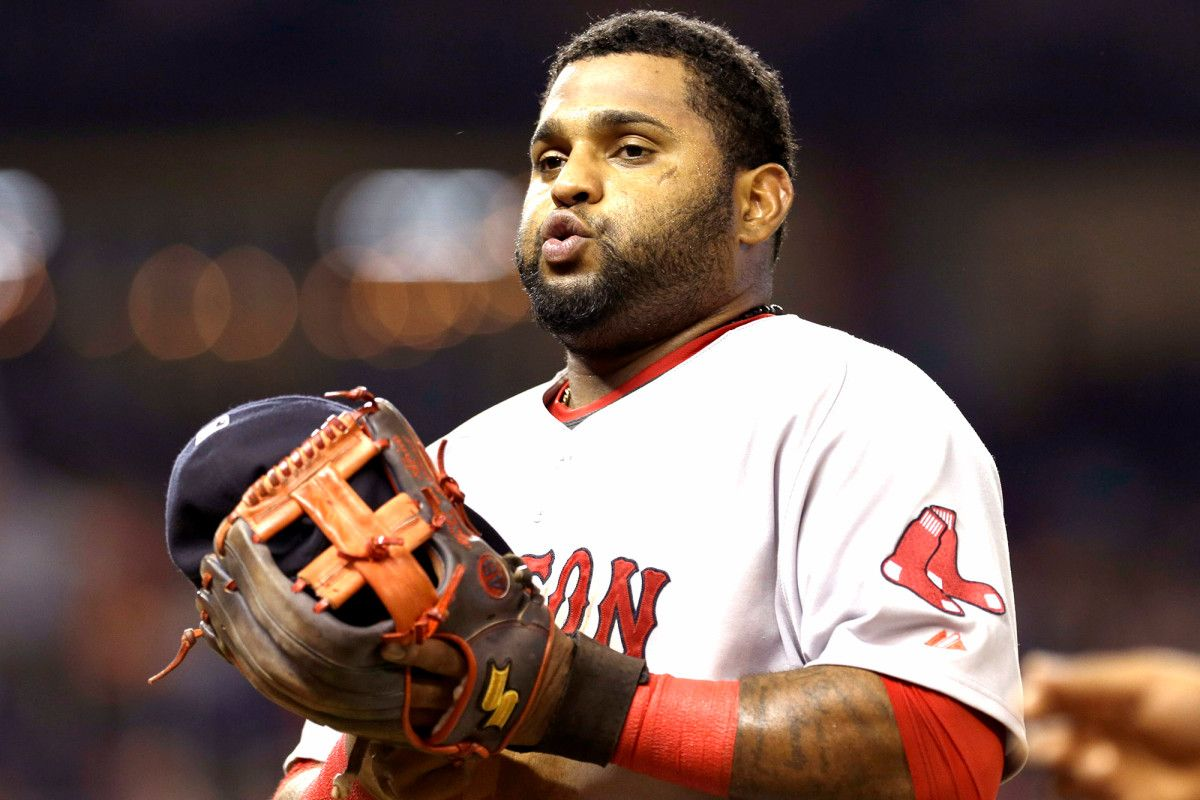 Sandoval's Red Sox stay at breaking point with nowhere to go #inewsphoto