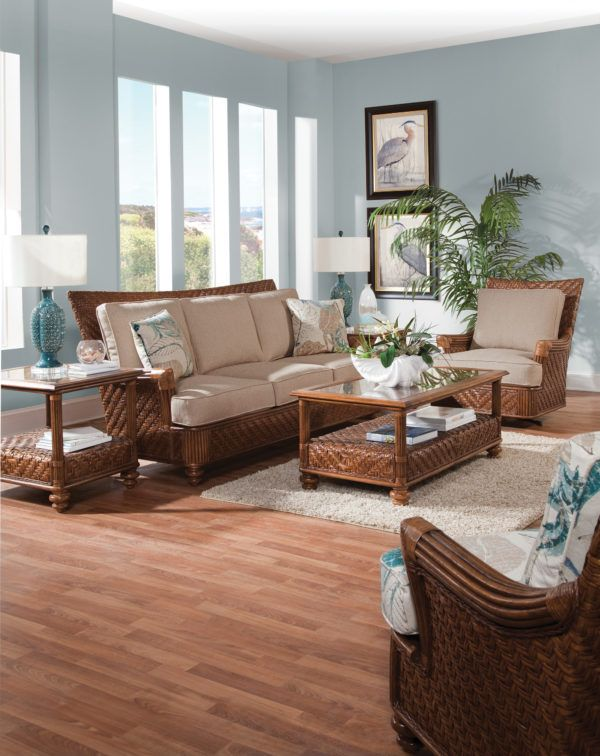 Decorating your living room properly will. Pin on Beautiful Indoor Wicker and Rattan Living Room ...
