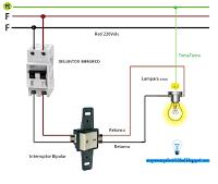 Esquema Interruptor Bipolar Esquemas Electricos Diagrama De Instalacion Electrica Instalación Electrica