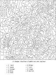 Coloriage Numerote Animaux.Coloriage Numerote Animaux Coloring Pages Adult Color By Number