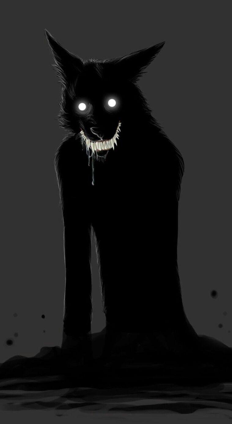 Nightmare Creature - Wolf | Fun drawing ideas in 2019 | Werewolf art