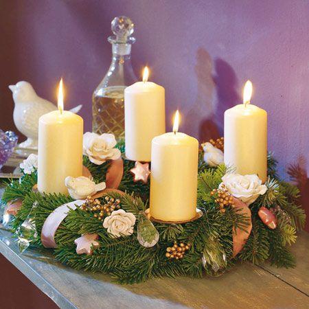 adventskranz selber machen wie binde ich einen kranz christhmas pinterest advent kranz. Black Bedroom Furniture Sets. Home Design Ideas