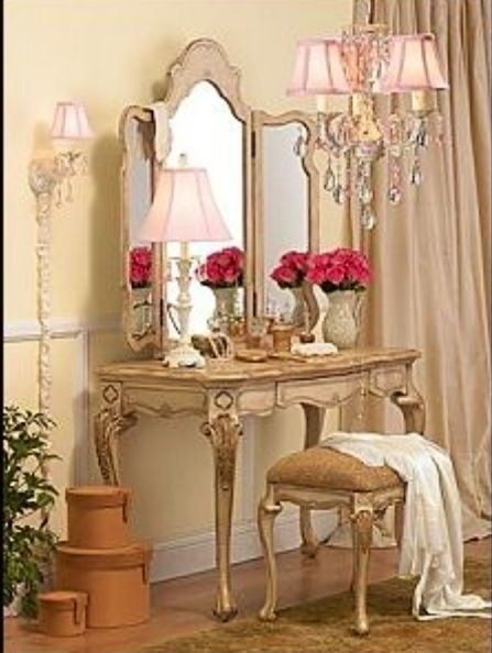 Romantic Victorian Style Dressing Table My Frilly Fancy 39 S Pinterest