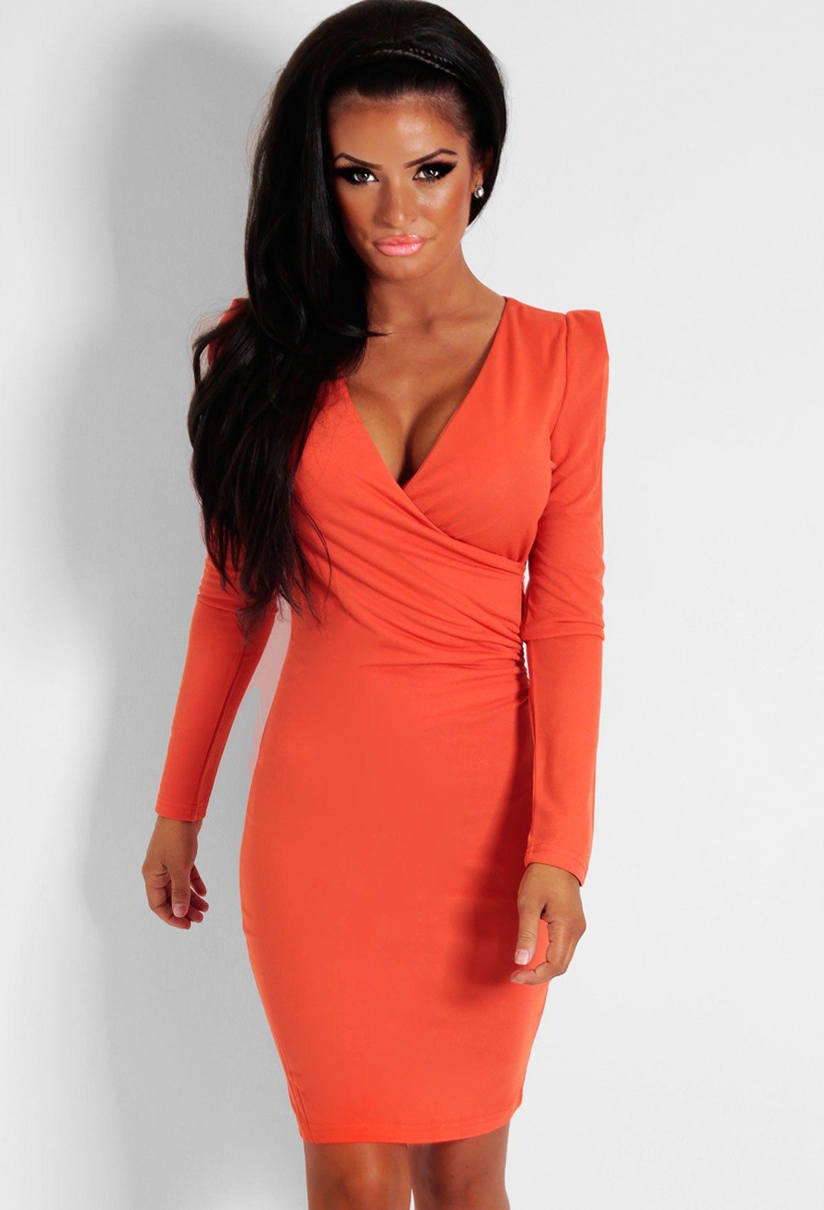 16++ Burnt orange bodycon dress ideas