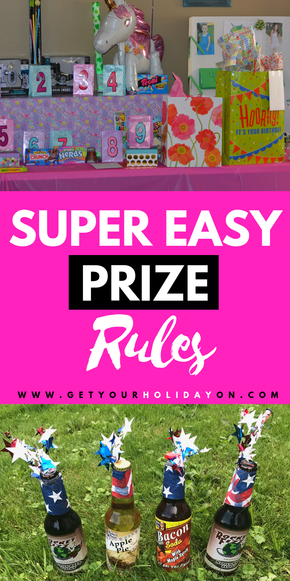Prize Instructions + Creative Ways to Win a Prize