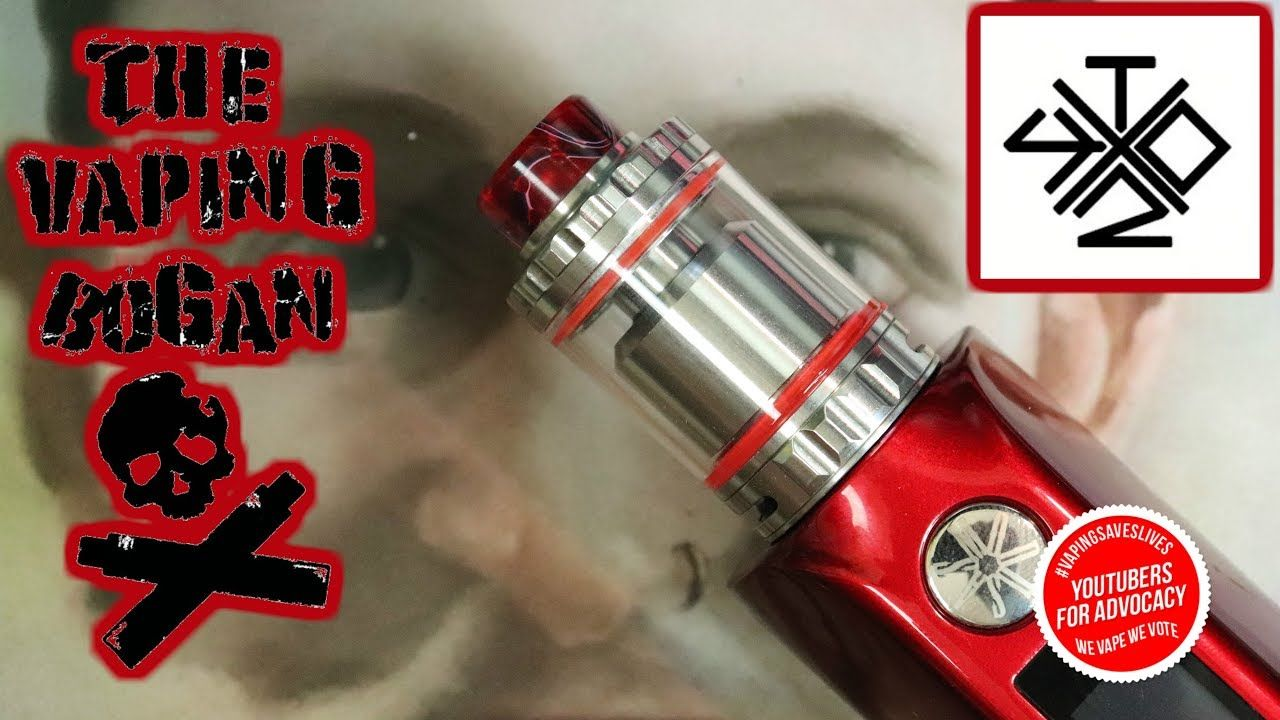 Triple RTA By Vaping With Twisted 420 & Vandy Vape | The
