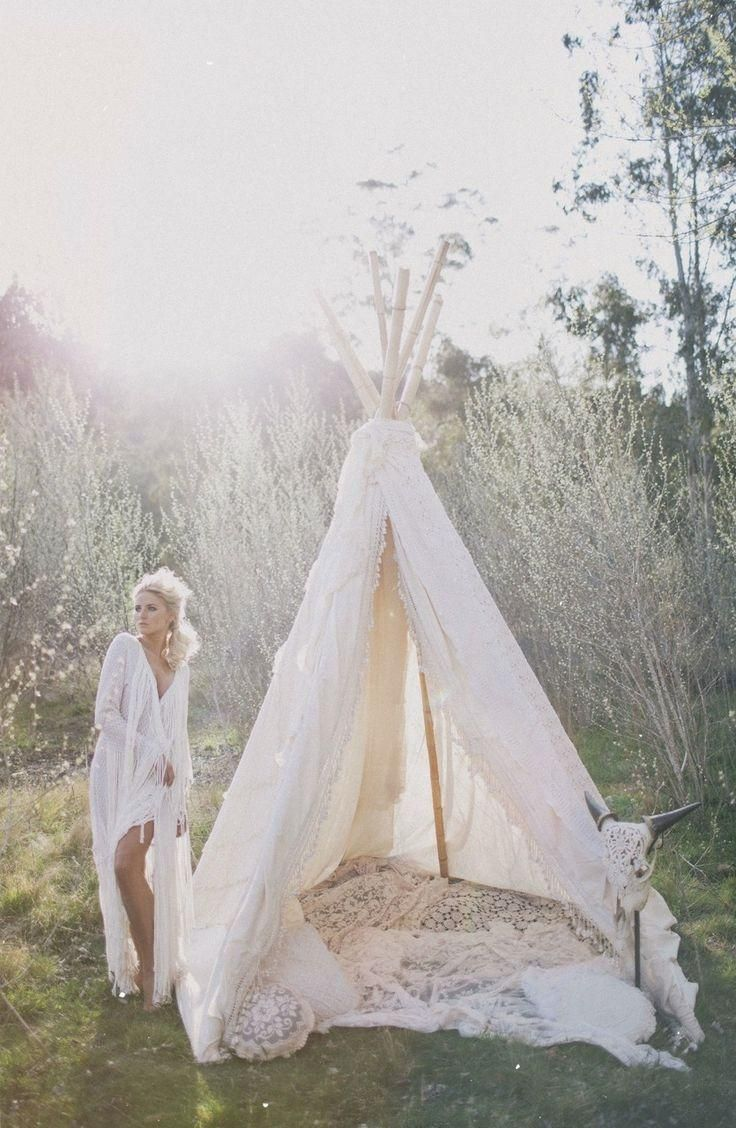 Teepee dreams...be cute to construct one in the garden one summer for me and ben to relax in..switches it up from making pillow forts in the house!!