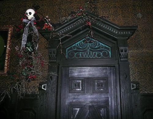Door in Haunted Mansion