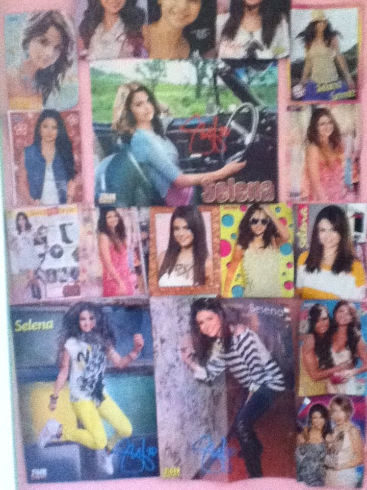 my selena gomez posters all over my wall selena gomez on poster my wall id=46637