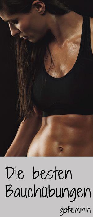 flache untere Bauchmuskeln