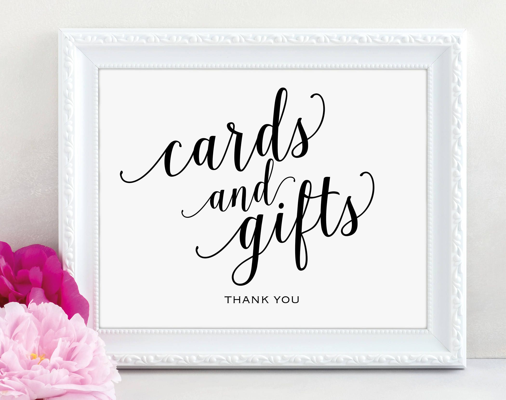 Cards And Gifts Sign Cards Gifts Printable Gift Table Etsy Printable Wedding Sign Gift Table Signs Wedding Invitations Printable Templates