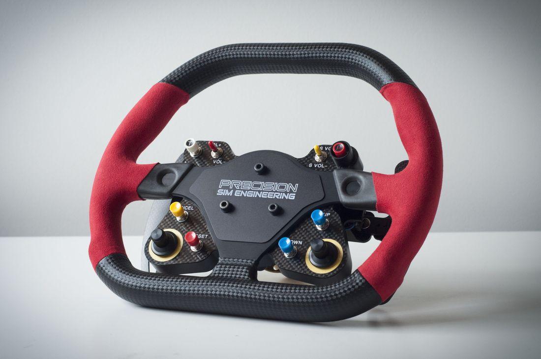 precision sim engineering gt3 series sim racing wheel. Black Bedroom Furniture Sets. Home Design Ideas