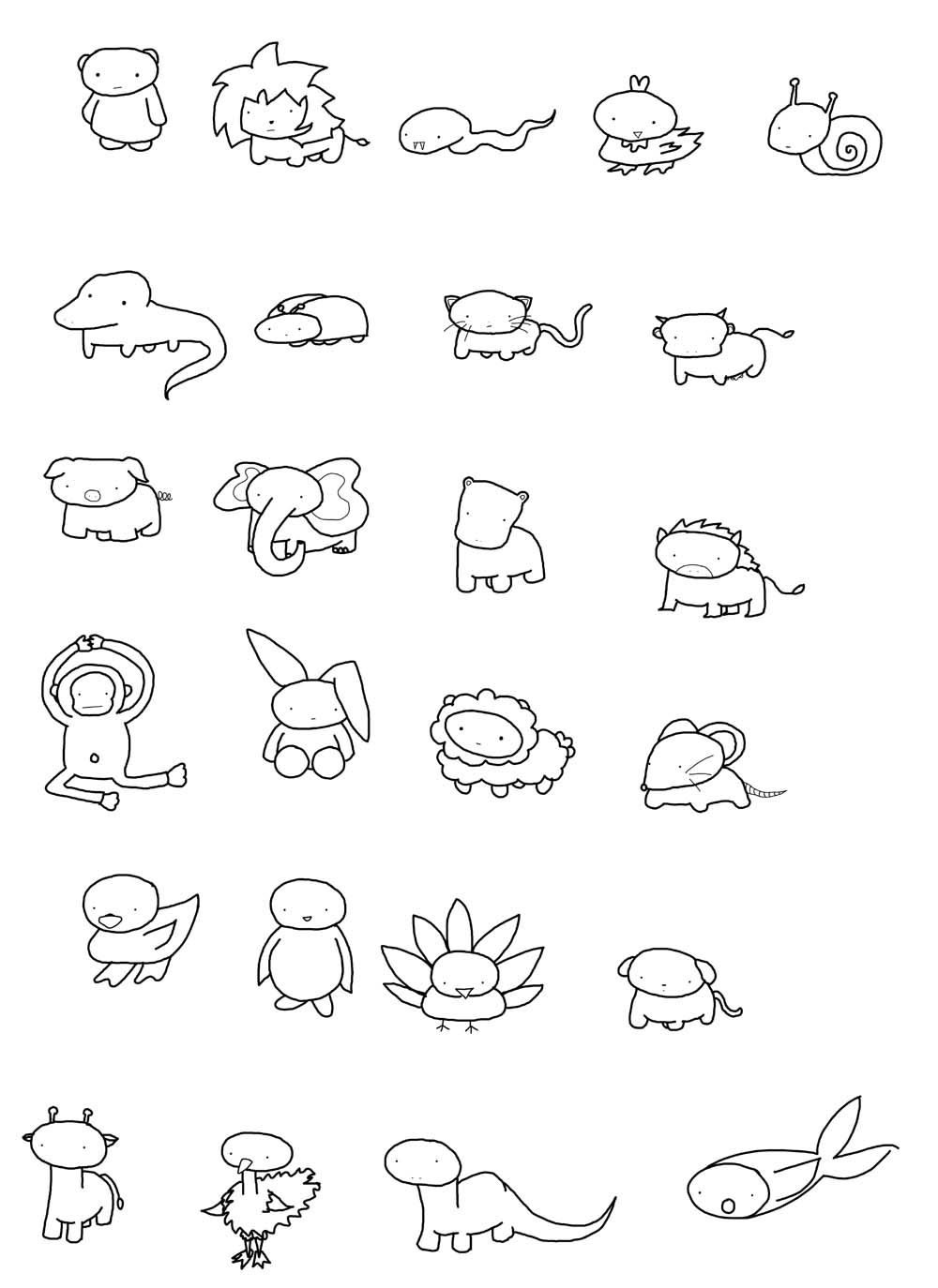 Find This Pin And More On How To Draw  Animals